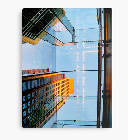 The Cross Lights Metal Print