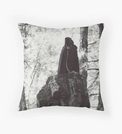 The Harpy Throw Pillow