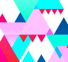 Geometric Triangle Design 3 Sticker
