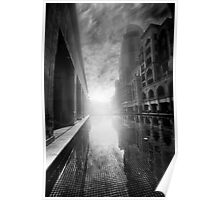Sunrise In The City - Dubai Poster