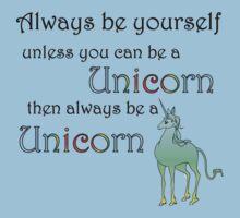 Be a Unicorn Kids Clothes