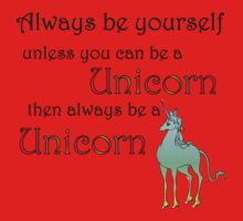 Be a Unicorn Kids Clothes