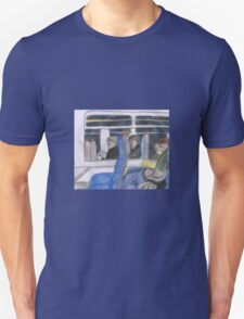 Reflections in the Train Window Unisex T-Shirt