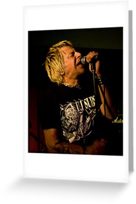 Uk Subs Charlie Harper by Trevor Fellows