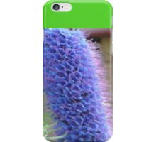 Blue Flower Spike iPhone Case/Skin