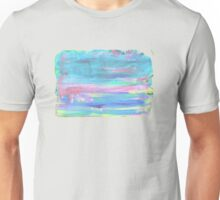 Paint faded text pink Unisex T-Shirt