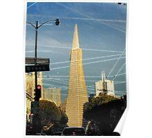 Streets of San Francisco - Transamerica Pyramid  Poster