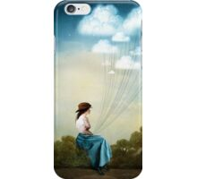 Blue Thoughts iPhone Case/Skin