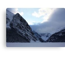 Ice Locked Lake Louise Canvas Print