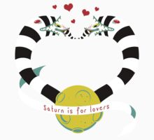 Saturn is for Lovers Baby Tee