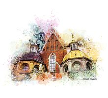 Wawel Art Cracow Photographic Print