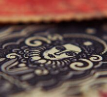 Macro Stamps Sticker
