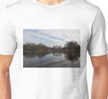 New York City Central Park Bow Bridge Quiet Reflections Unisex T-Shirt