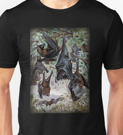 Indian Flying-fox painting  Unisex T-Shirt