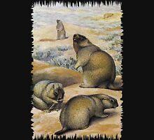 Painting of The bobak marmot Unisex T-Shirt