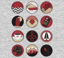 Iconic: Twin Peaks Baby Tee