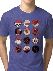 Iconic: Twin Peaks Tri-blend T-Shirt
