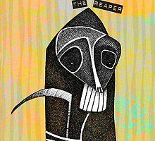 Don't Fear the Reaper - iPhone case by KenRinkel