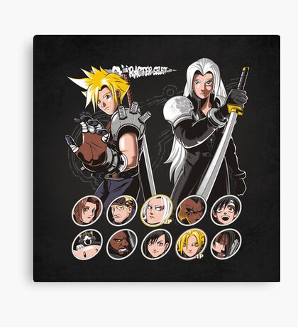 MIDGAR FIGHTER Canvas Print