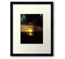 The pass #10 Framed Print