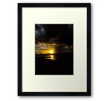 the pass #11 Framed Print