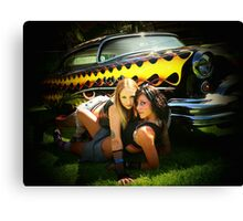 Yellow Flame Delight! Canvas Print