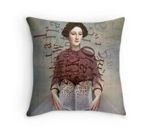 The Storybook Throw Pillow