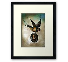 Precious flight Framed Print