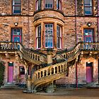 Belfast Castle staircase. by Peter Ellison