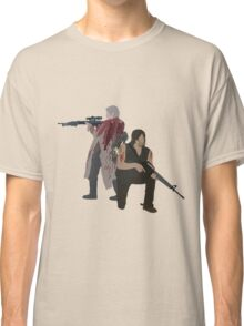 Carol Peletier and Daryl Dixon (Version 1) - The Walking Dead  Classic T-Shirt
