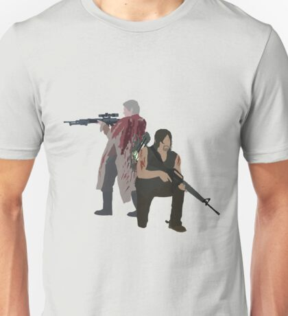 Carol Peletier and Daryl Dixon (Version 1) - The Walking Dead  Unisex T-Shirt