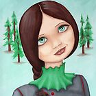 Anouk and the Pine Weasel by Purrr