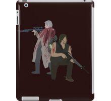 Carol Peletier and Daryl Dixon (Version 1) - The Walking Dead  iPad Case/Skin