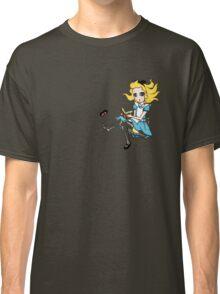 Alice in Wonderland falling down rabbit hole Classic T-Shirt