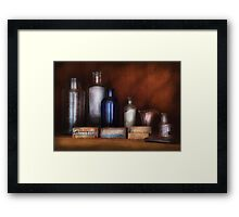 Doctor - Asthma Cures Framed Print