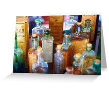 Pharmacist - Liniment & Balms Greeting Card