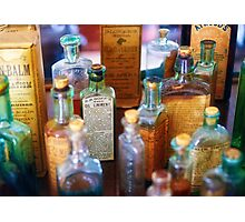 Pharmacist - Liniment & Balms Photographic Print