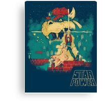 STAR POWER Canvas Print
