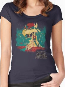 STAR POWER Women's Fitted Scoop T-Shirt
