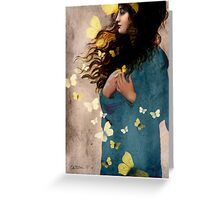 Bye bye butterfly Greeting Card