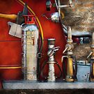 Fireman - An Assortment of Nozzles by Mike  Savad