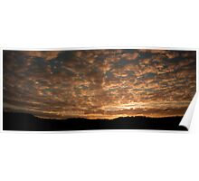 Sun Setting - Canunda National Park Poster