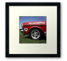 Allan Moffat Replica Falcon XY GT #3 Framed Print