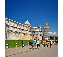 Pisa's Miracles II Photographic Print