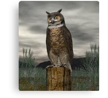 Great Horned Owl Canvas Print