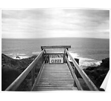 Cape Schanck: Footpath closed Poster