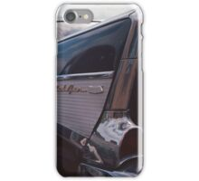 '57 Chevy Tail Fin iPhone Case/Skin
