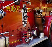Fireman - Engine no 2  by Mike  Savad