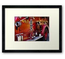 Fireman - Engine no 2  Framed Print