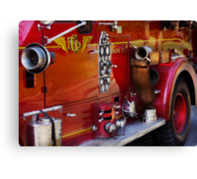 Fireman - Engine no 2  Canvas Print